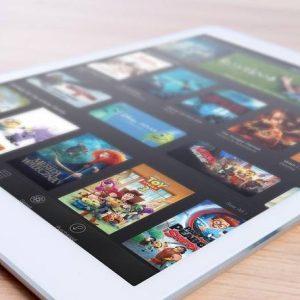 Strona www na tablet