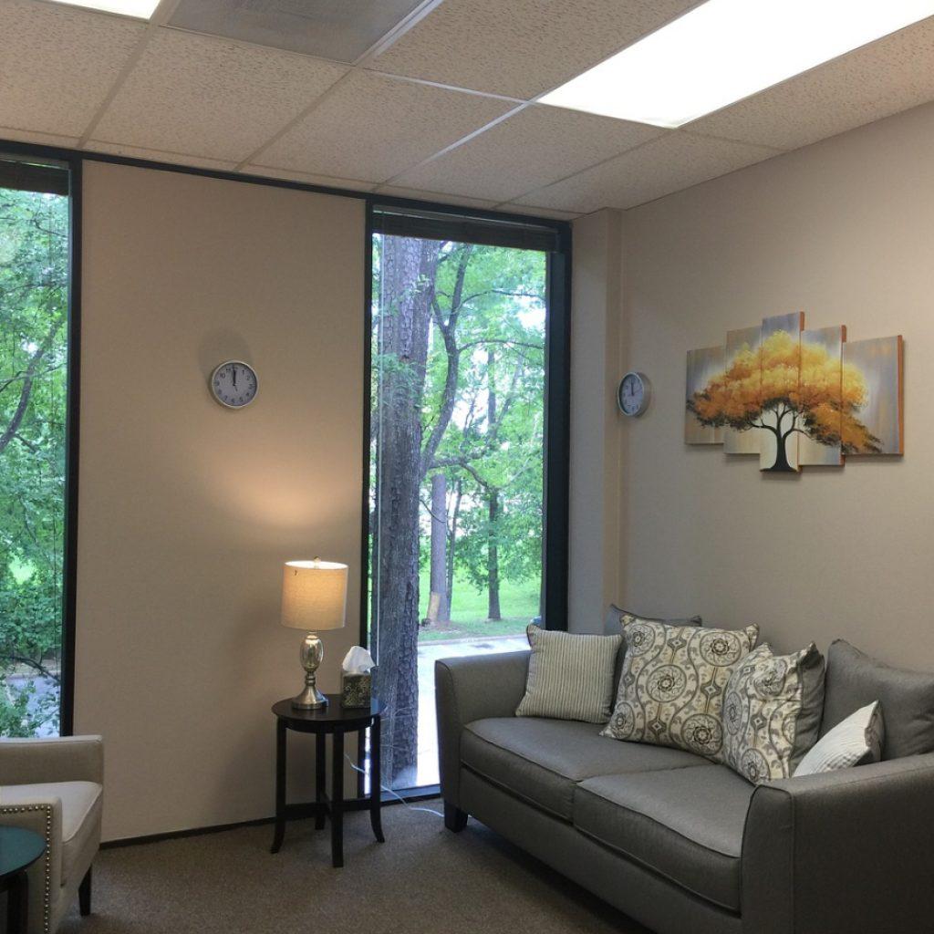 relaksujące pomieszczenie